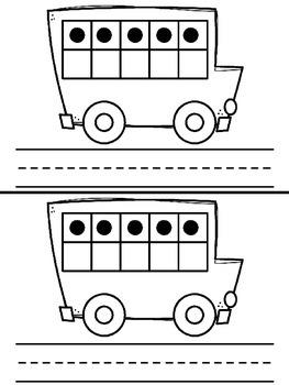 Bus Ten Frame Activities