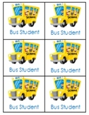 Bus, Walker & After School Backpack Tags