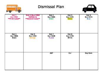 Bus dismissal plan