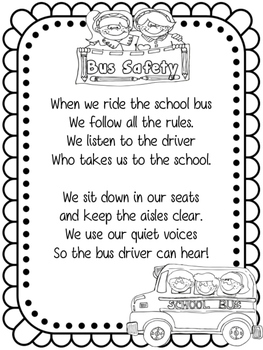 Bus safety Bilingual