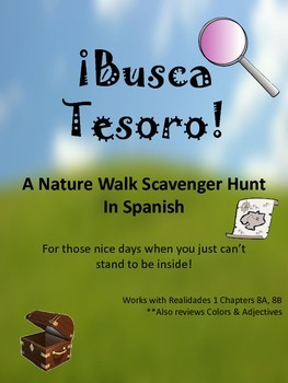 Busca Tesoro - A Nature Scavenger Hunt for Spanish 1
