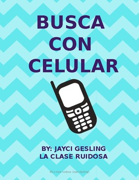 Busca con celular (Cell phone Scavenger hunt)