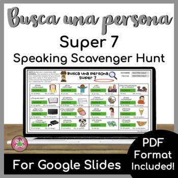 Busca una persona - Super 7
