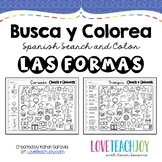 Busca y Colorea: Las Formas (Shapes)