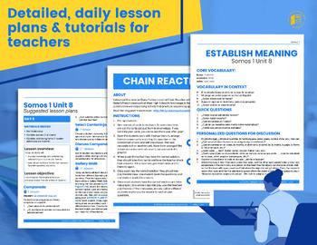 SOMOS Spanish 1 Unit 8: La comida latina