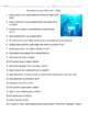 Buscando a Dory Movie Quide Questions in Spanish