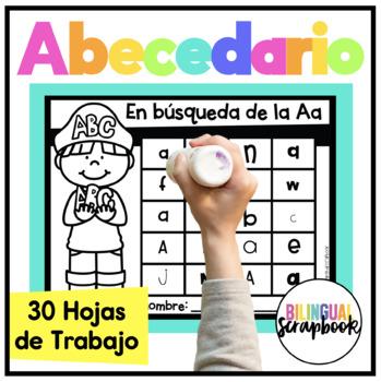 Buscando el Abecedario (Alphabet Print & Learn Activities in Spanish)