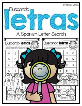 Buscando letras: A Spanish Letter Search