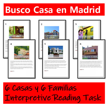 Interpretive Reading Task Spanish - Busco Casa en Madrid