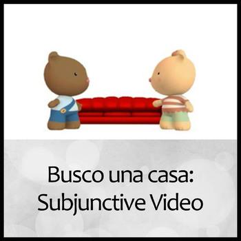 Busco una casa: Spanish Subjunctive for the unknown video