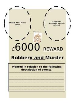 Bush Ranger Wanted Posters