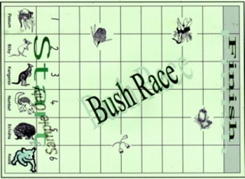 Bush race - Early number - game skills