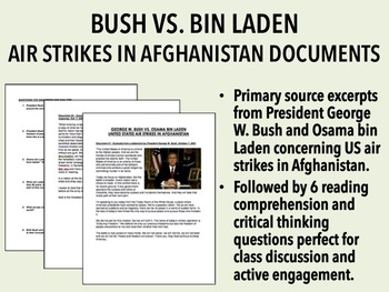 Bush vs. Bin Laden - US Airstrikes in Afghanistan Documents