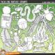 """Bushcraft and Camping Clip Art: """"Tackling Nature"""""""