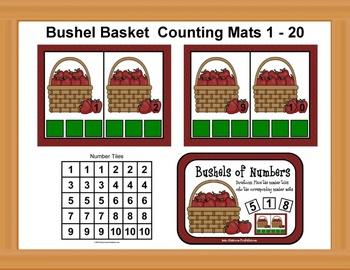 Bushel Basket Counting Mats