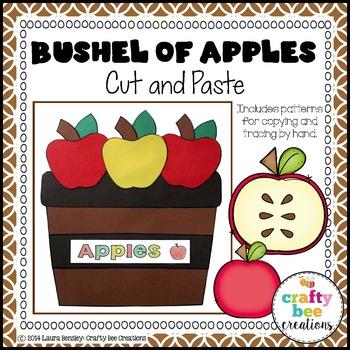 Bushel of Apples Cut and Paste