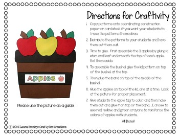 Apple Craft {Bushels of Apples}