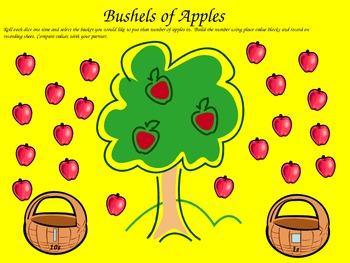 Bushels of Apples - Place Value Game