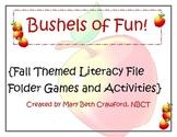 Bushels of Fun! {Fall Themed Literacy Games}