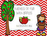 Bushels of Fun With Apples {Literacy, Math & Craftivities}