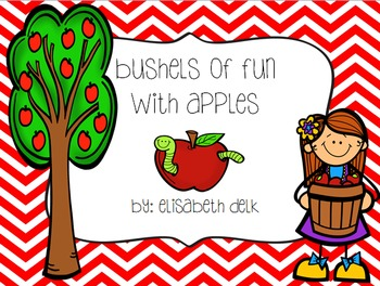 Bushels of Fun With Apples {Literacy, Math & Craftivities}