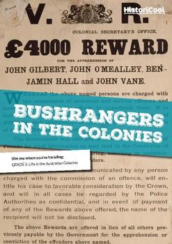 Bushrangers in the Colonies Resource Bundle