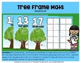 Bushy Tree Ten Frame Mats (Vertical) 10-20