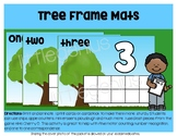 Bushy Tree Ten Frame Mats, 1-10