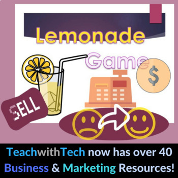 Business Activity - Lemonade Game