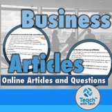 Business Articles Activity