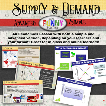 Business Basics - Supply & Demand