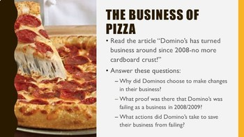 Business Basics Unit PowerPoint and Note Taking Guide