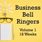 Business Bell Ringers - 18 Weeks!