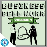 Business Bell Work (Digital Bell Ringers) - Volume 1