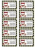 Business Cards-Hollywood Classroom Decor