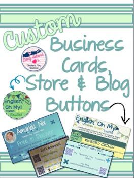 Business Cards, Store & Logo Design {Designer}-Personalize, Customize