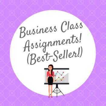 Business Class Assignments! (Best-Seller!)