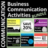 Business Communication Activities Bundle SAVE 20%