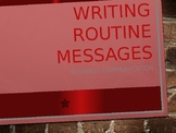 Business Communication-Writing Routine Messages