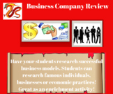 Business Company Review Activity