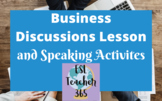 Business Discussions Lesson for Business English