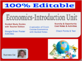 Business Economics Complete Intro Unit: Projects, Activiti
