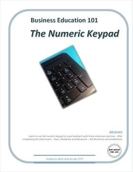 Business Education 101 - Numeric Keypad