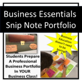 Business Education Essentials Snip Note System!