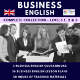 Business English Collection - Levels 1, 2 and 3 for ESL
