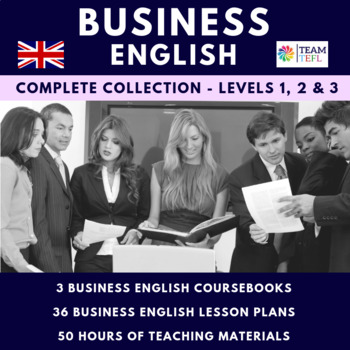 Business English Coursebook Bundle - Levels 1, 2 and 3