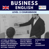 Business English Level Two Course Book ESL / TEFL
