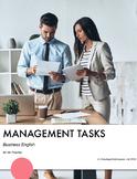 Business English - Management Tasks