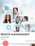 Business English - Remote Management