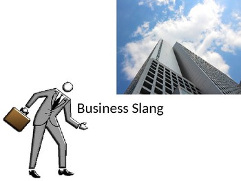 Business English Slang ESL